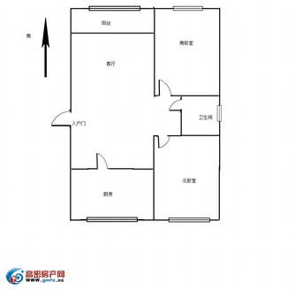 康河花苑,两室两厅,带两个停车位,一个地上一个地下,带储藏室,精装,南北通透