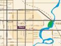 天福·世纪城交通图