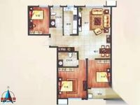 出售菲达广场 音乐花园3室2厅2卫144平米105万住宅