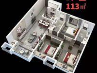 出售中骏 世界城3室2厅2卫113平米79万住宅