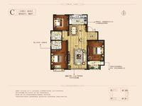 人民大街豪宅顺达 中央国际大3室158平米110万