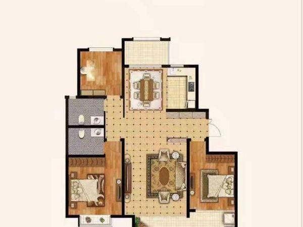 出售远大 铂悦嘉园二期3室2厅2卫150平米100万住宅