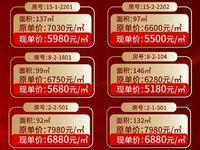 御林华府顶账房多套 从97—146平 5180 平 可贷款