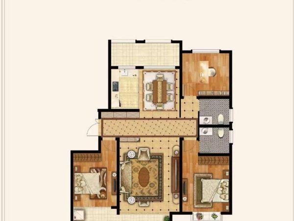 出售远大 铂悦嘉园二期3室2厅2卫149平米102.7万住宅