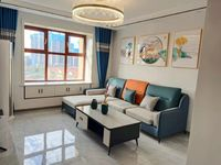 售东方名都电梯6楼2室2厅品牌装修未住送家具家电送车位和储藏室90平78.8万