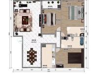 黄金花园172平精装三室两厅两卫带车位132万拎包入住