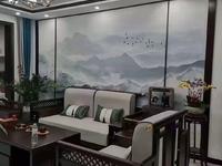 天福世纪城电梯6楼128平带储藏室车位中式风格带家具家电拎包入住136万